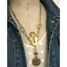 antique key necklace images Antique key escutcheon necklace fatto a mano antiques jpg