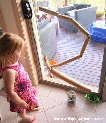 learn with play at home cardboard tube marble run