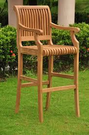 Patio Bar Chairs by Wonderful Teak Stool Bar Furniture U2014 The Homy Design