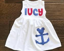 Nautical Theme Dress - disney cruise dress etsy