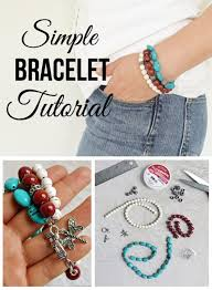 diy simple bracelet images Simple bracelet tutorial jpg