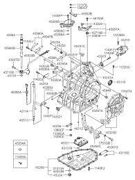2008 hyundai elantra transmission 45241 23005 genuine hyundai transmission