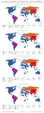 Future Map Of The World by Dr4ward World Map Of Social Networks A Look At The Future