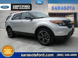 pre owned ford explorer sport certified pre owned 2015 ford explorer sport with navigation