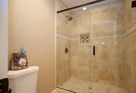 marvelous tumbled travertine tile bathroom images design ideas