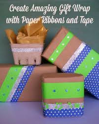 paper ribbons 504 by lefevre create amazing gift wrap with paper
