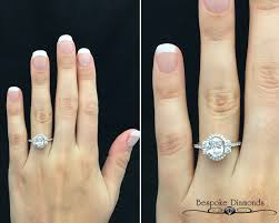 vintage halo engagement rings vr1018 vintage halo ring by bespoke diamonds