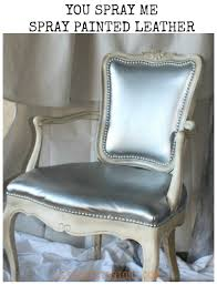 Where To Buy Upholstery Fabric Spray Paint Spray Paint Leather Chair