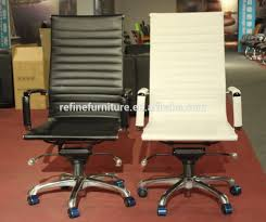 synthetic leather modern armless office chair no arms rf s075w