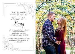 wedding announcements wedding announcement cards affordable marriages and