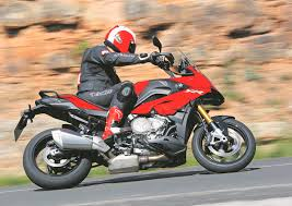 boxer dog on motorcycle bmw s1000xr 2015 on review mcn