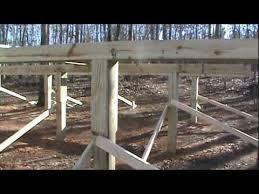 16x24 post and pier cabin cabin foundation at c kiriakos