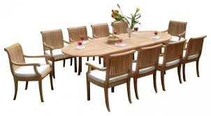 Round Teak Table And Chairs Gather Around With Your Friends And Family Around Dining Table