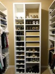 closet organizer ideas for shoes home design ideas