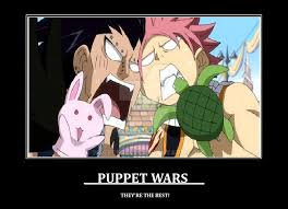 Fairy Tail Funny Memes - puppet wars by wolfsmiley on deviantart