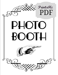 photo booth sign diy printable pdf photo booth sign photo booth by littleretreats