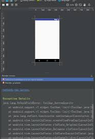 android layoutinflater java lang nosuchfielderror toolbar buttongravity at android support