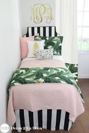 palm tree bedding sets for dorm rooms black and white palm tree