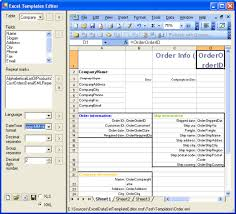 Office Excel Templates Excelml Templates Editor Data Visualization Office 2003
