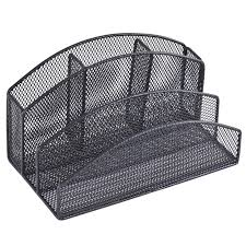 Mesh Desk Organizer Rebrilliant Wire Mesh Desk Organizer Reviews Wayfair