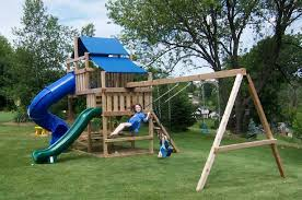 Backyard Playground Slides by Backyard Playground Safety Planning For A Safe Playground