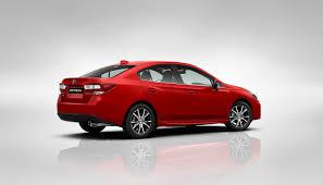 red subaru sedan impreza sedan models subaru