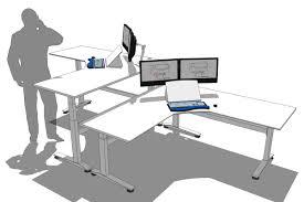 Sit Stand Desk Attachment by Linak Desk Controller Best Home Furniture Decoration