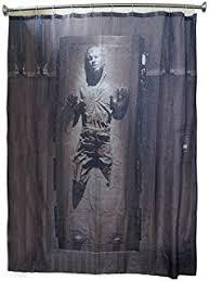 Classic Shower Curtain Amazon Com Disney Star Wars Classic Bath Collection Shower