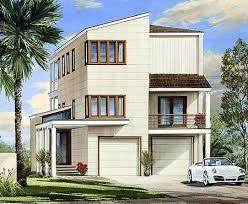 Beach Style House Plans Plan W32604wp Contemporary Beach Style Home Plan E