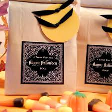 halloween treat bags gift u0026 favor ideas from evermine