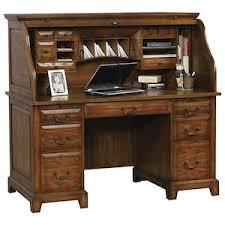 Roll Top Desk Oak Zahara Roll Top Desk In Oak Nebraska Furniture Mart