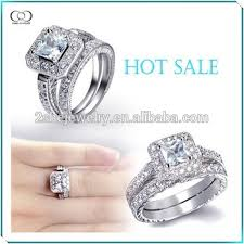silver wedding ring sets best sell new model wedding ring sets silver wedding ring view