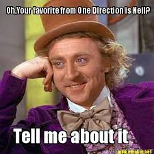 Neil Meme - meme maker ohyour favorite from one direction is neil tell me about it