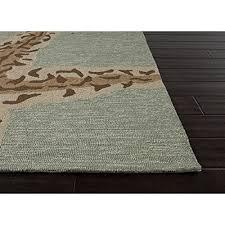 ash gray and sandstone sea star area rug