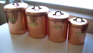 copper canister set kitchen kitchen canisters gt kitchen 39 tea 39 canister applied copper lab