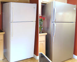 can you paint kitchen appliances transform your furniture and appliances with stainless steel paint
