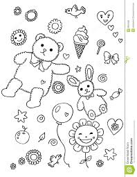 fun element coloring page royalty free stock photos image 8801698