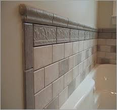 bathroom tile trim ideas shower tile trim ideas more eye catching design troo