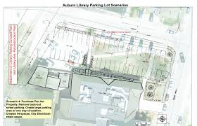 parking lot floor plan auburn wants to pave library green space and put up a parking lot