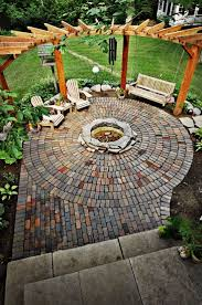 Slate Pavers For Patio by Best 25 Stone Fire Pit Kit Ideas On Pinterest Outdoor Fire Pit