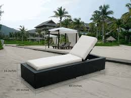 Patio Chaise Lounge Sale Beautiful Outdoor Patio Wicker Furniture Chaise Lounge Set New