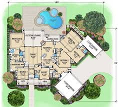 1 story luxury house plans luxury style house plans 3584 square foot home 1 story 4