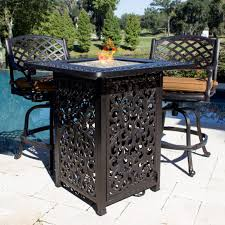 alderbrook faux wood fire table round propane fire pit table alderbrook faux wood set clearance