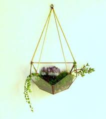 terrarium hanging terrarium himmeli hanging planter