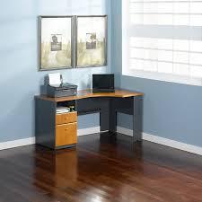 Vantage Corner Desk Vantage Corner Computer Desk Light Dragonwood Hayneedle