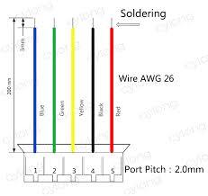 5 wire usb diagram diagram wiring diagrams for diy car repairs