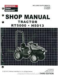 honda lawn mower manuals repair manuals online