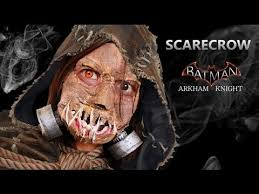 Scarecrow Batman Halloween Costume Scarecrow Mask Tutorial Scarecrow Batman Arkham Knight