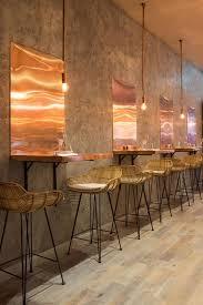 restaurant high top tables 11 best copper tones restaurants images on pinterest copper