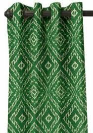 Green Grommet Curtains Jasper Faux Silk Lined Grommet Curtains Emerald Green Prospect